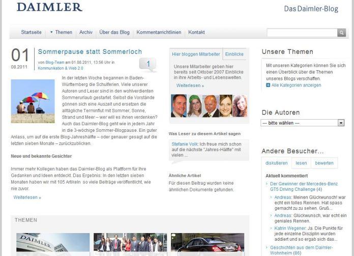 Daimlerblog